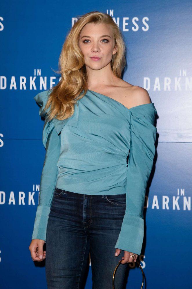 Natalie Dormer – 'In Darkness' Screening in London