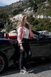 Natalie Dormer - Jaguar Drive Nice To Monaco