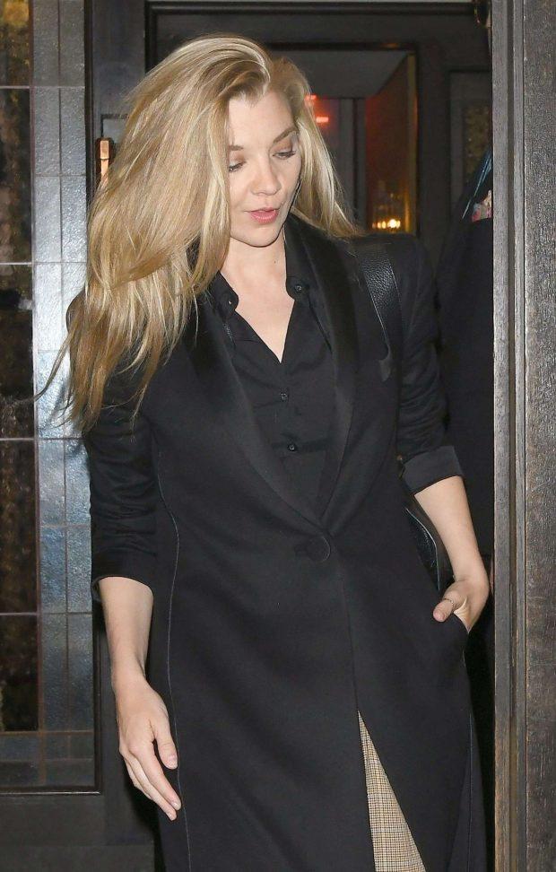 Natalie Dormer - Leaving 34 Restaurant in Mayfair