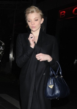 Natalie Dormer - Leaving Soho House in West Hollywood