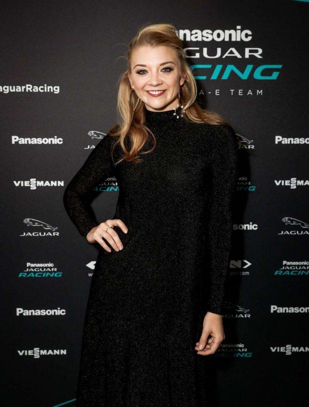 Natalie Dormer - Monaco E-Prix Cocktail Party on board the Panasonic Jaguar Racing Yacht