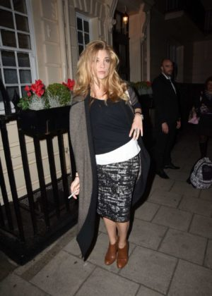 Natalie Dormer Night Out in London