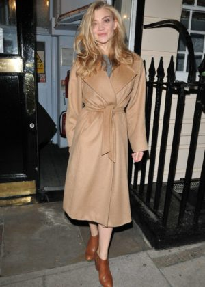 Natalie Dormer out and about in London