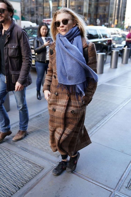Natalie Dormer - Out and about in NYC