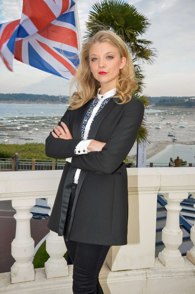 Natalie Dormer - Photocall during the 26th British Film Festival in Dinard