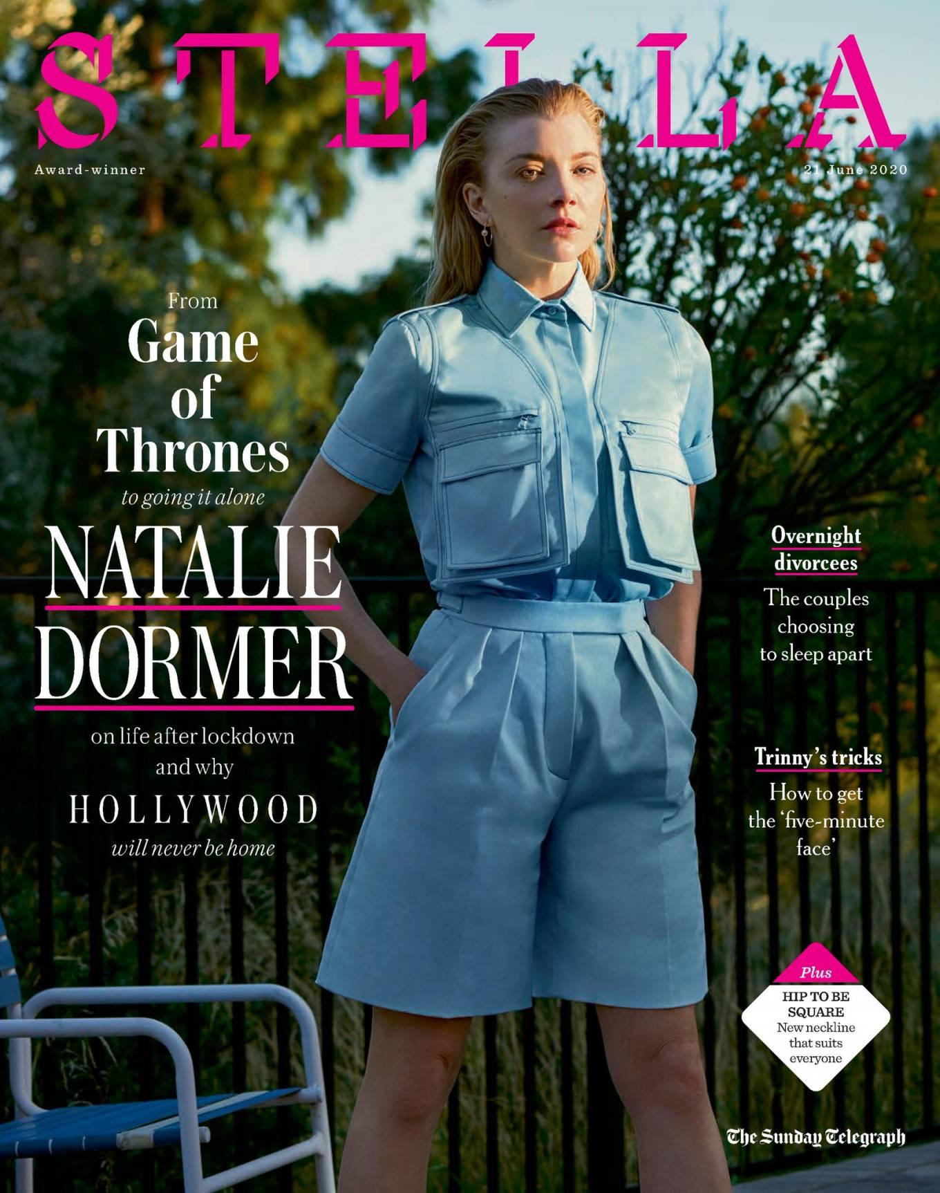 Natalie Dormer 2020 : Natalie Dormer – Stella Magazine 2020-01