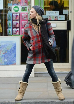Natalie Dormer Street Style - out in London