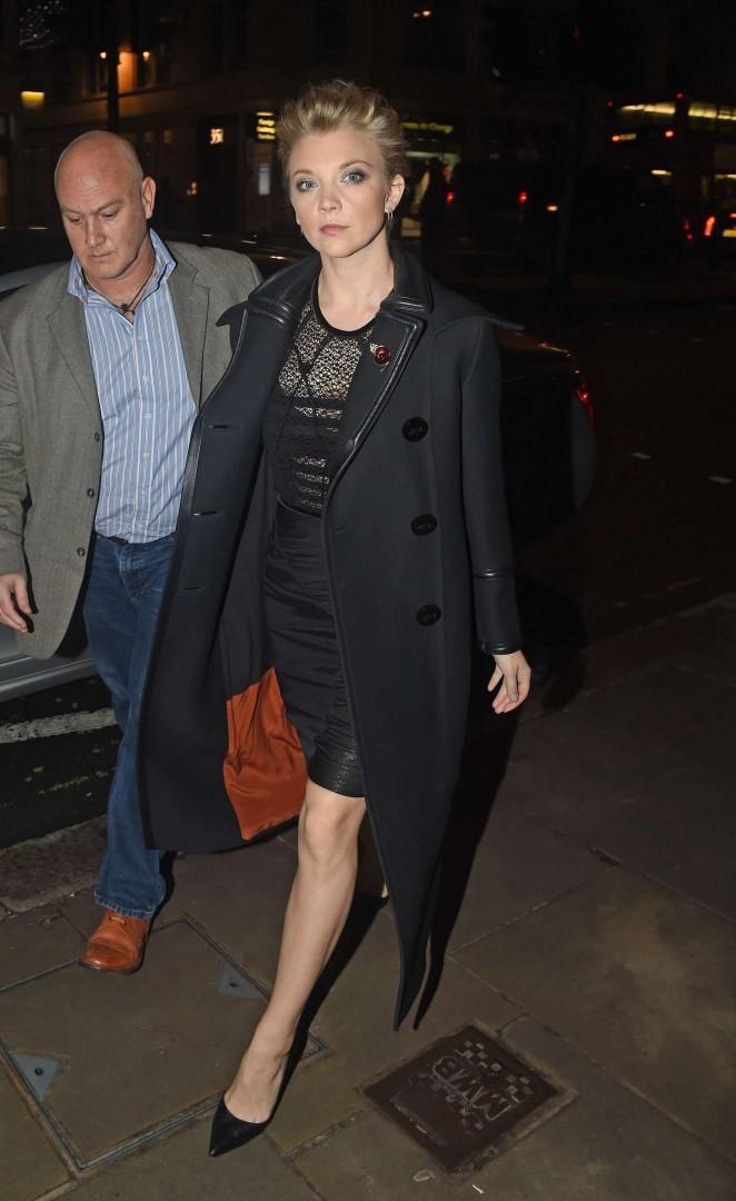 Natalie Dormer - Tim Palen's Book Launch in London