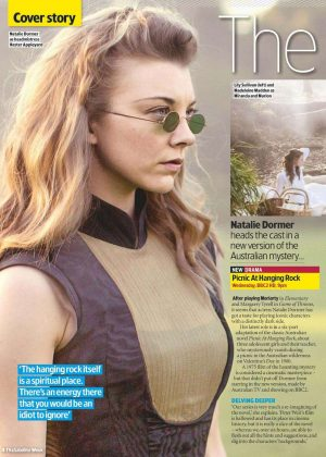 Natalie Dormer - TV&Satellite Week Magazine (July 2018)