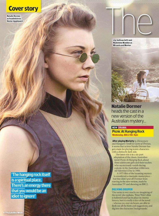 Natalie Dormer - TV&Satellite Week Magazine (July 2018)