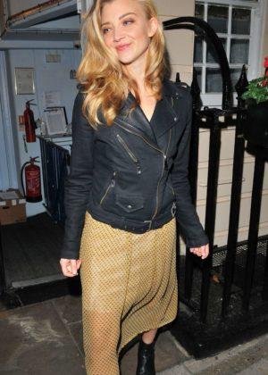 Natalie Dormer - 'Venus In Fur' Theatre Cast Departures in London