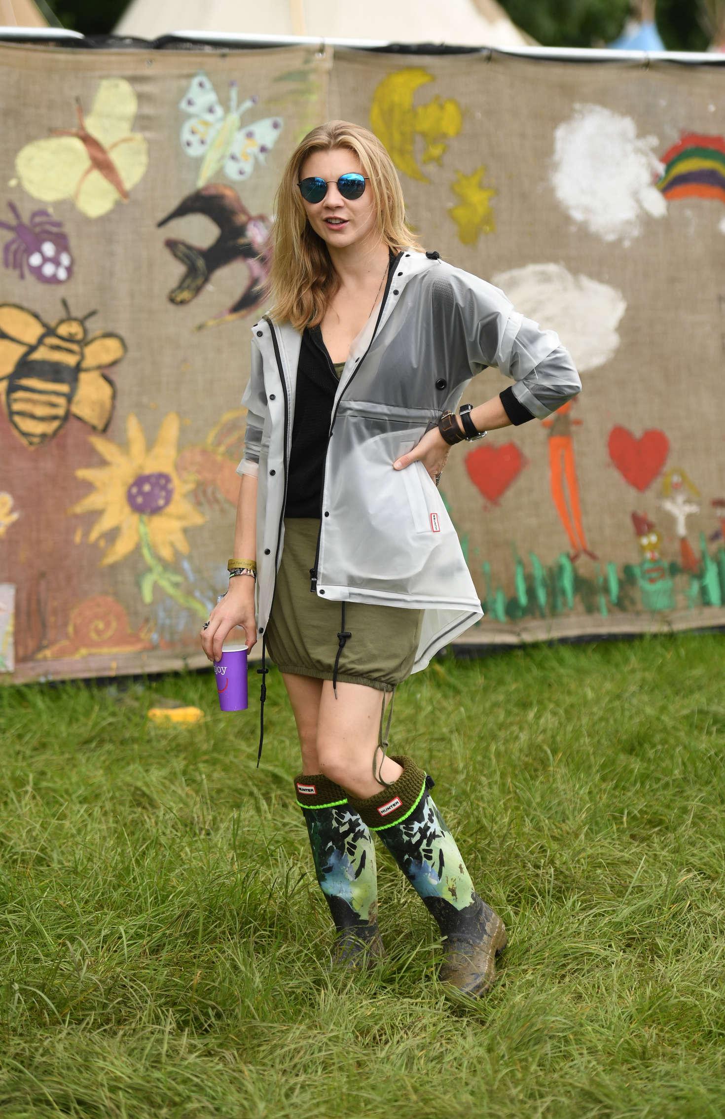 Natalie Dormer 2016 : Natalie Dormer: Visits the 2016 Glastonbury Festival -02