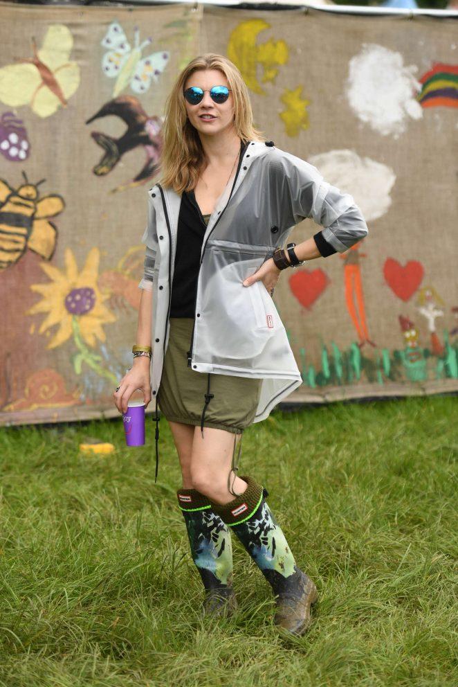 Natalie Dormer: Visits the 2016 Glastonbury Festival -11