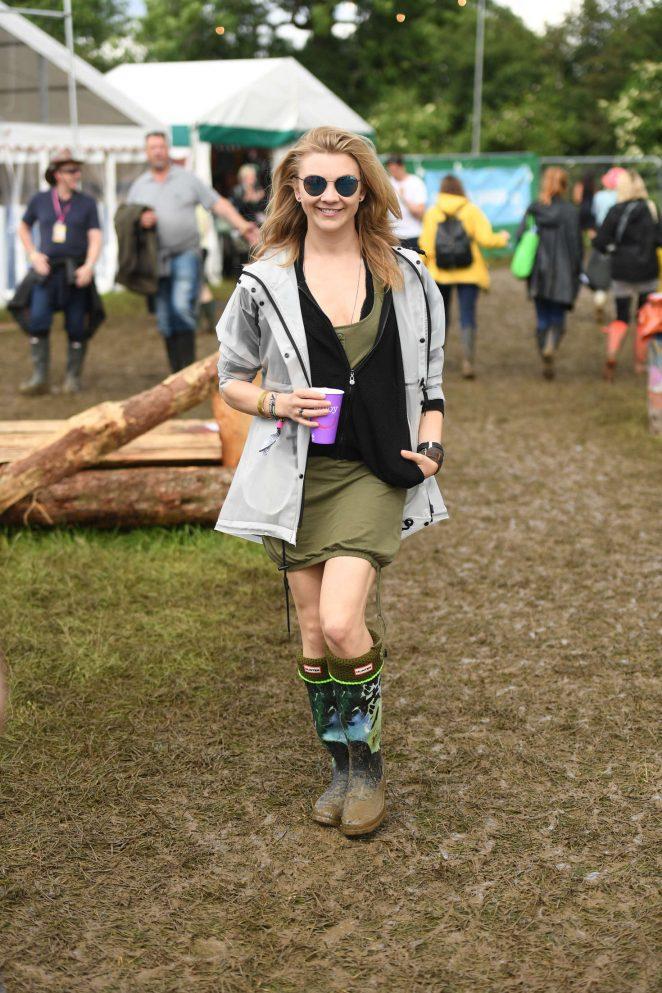 Natalie Dormer: Visits the 2016 Glastonbury Festival -14