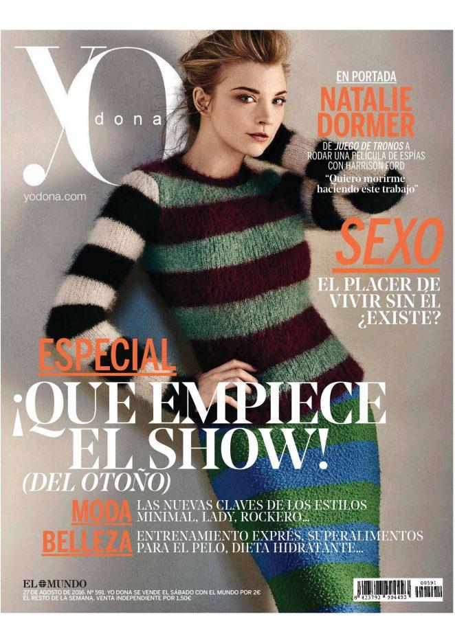 Natalie Dormer – Yo Dona Magazine (August 2016)