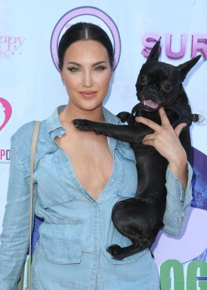 Natalie Halcro - 2016 World Dog Day in West Hollywood