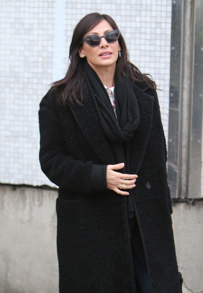 Natalie Imbruglia at ITV Studios in London