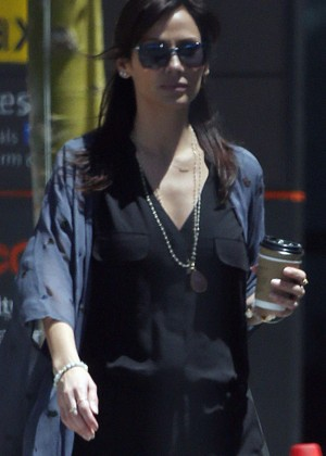 Natalie Imbruglia at Perth Airport in Australia