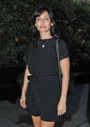 Natalie Imbruglia at The Chiltern Firehouse in London