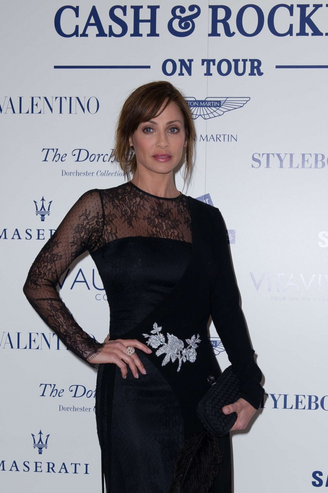 Natalie Imbruglia - Cash & Rocket Gala Dinner in London