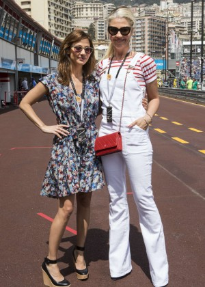 Natalie Imbruglia - Formula E Monaco ePrix 2015