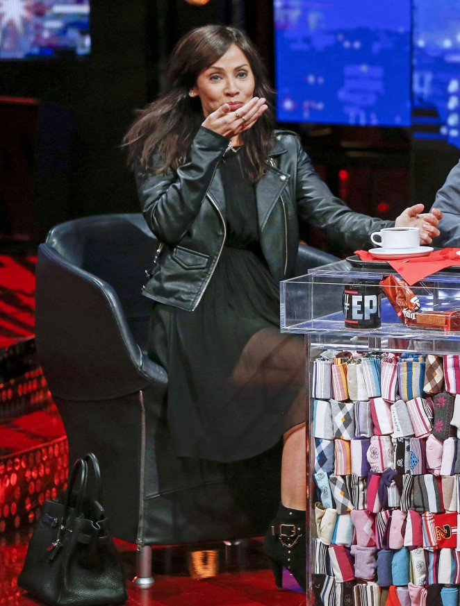 Natalie Imbruglia - TV Show 'E poi c'e' Cattelan' in Italy
