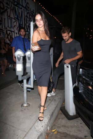Natalie Joy - Night out at Craig's in West Hollywood