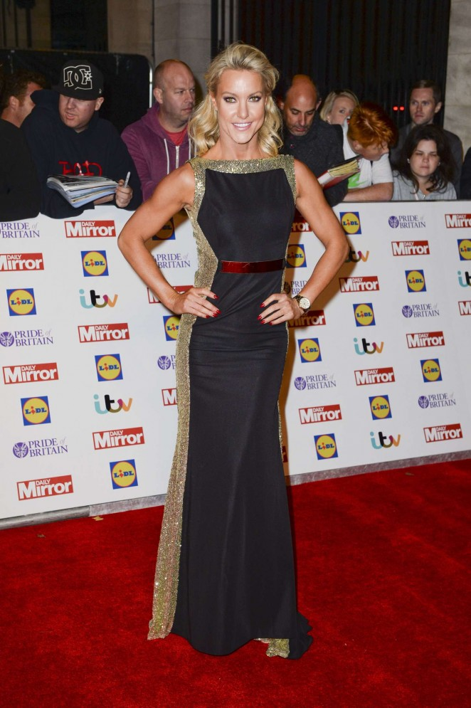 Natalie Lowe - 2015 Pride of Britain Awards in London