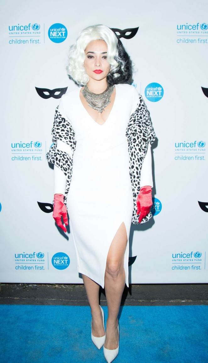 Natalie Martinez - 2015 UNICEF Black & White Masquerade Ball in LA