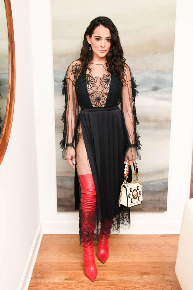 Natalie Martinez - Fendi X Flaunt Celebrate the Fantasy Issue in LA