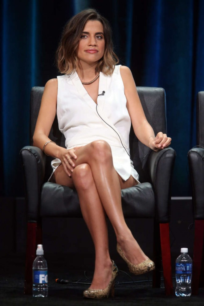 Natalie Morales - 'The Grinder' Panel 2015 Summer TCA Tour in Beverly Hills