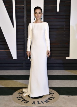 Natalie Portman - 2015 Vanity Fair Oscar Party in Hollywood