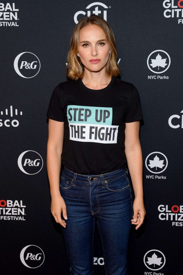 Natalie Portman - 2019 Global Citizen Festival: Power The Movement in NYC