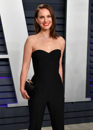 Natalie Portman - 2019 Vanity Fair Oscar Party in Beverly Hills