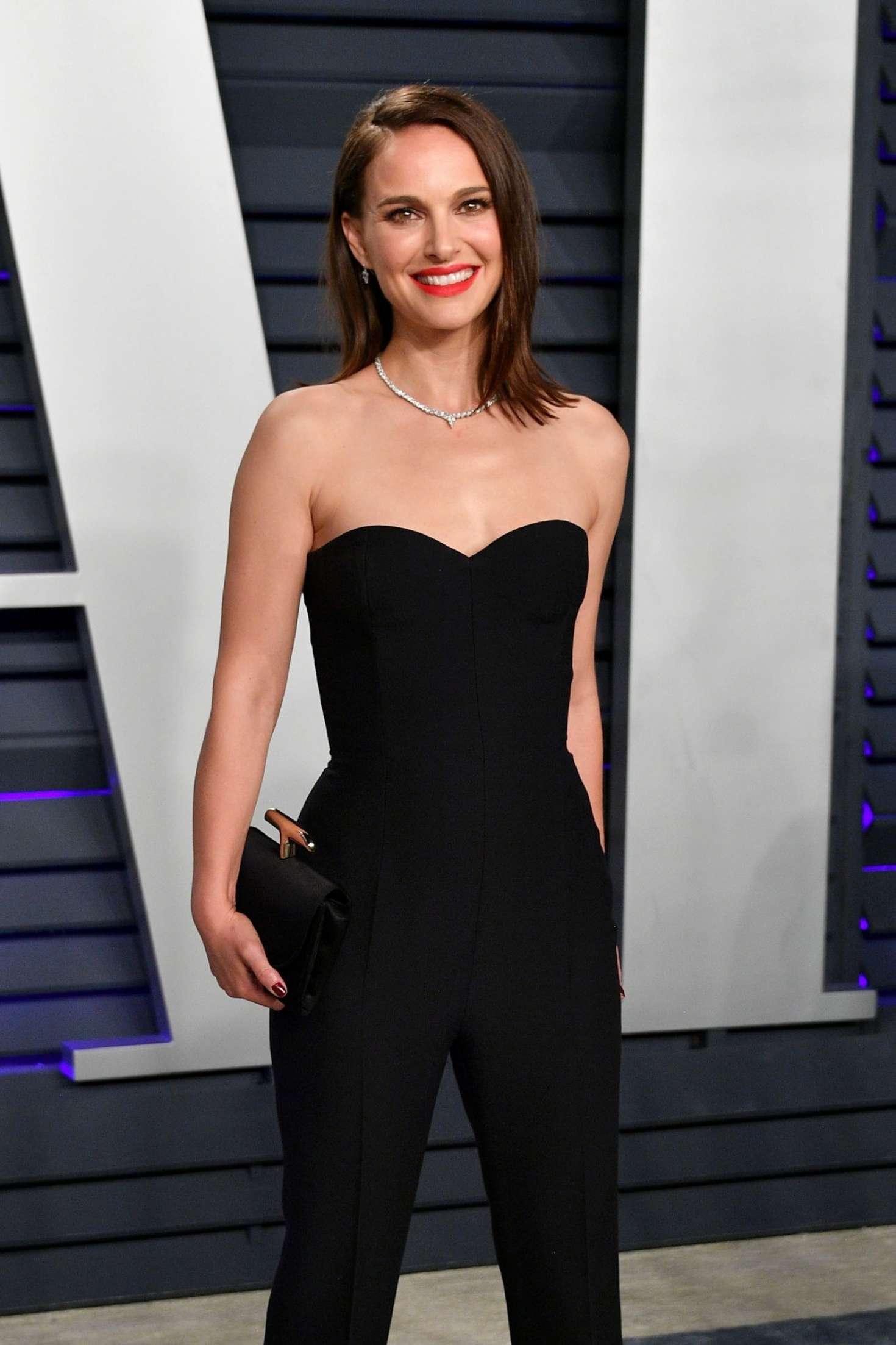 Natalie Portman - 2019 Vanity Fair Oscar Party in Beverly Hills