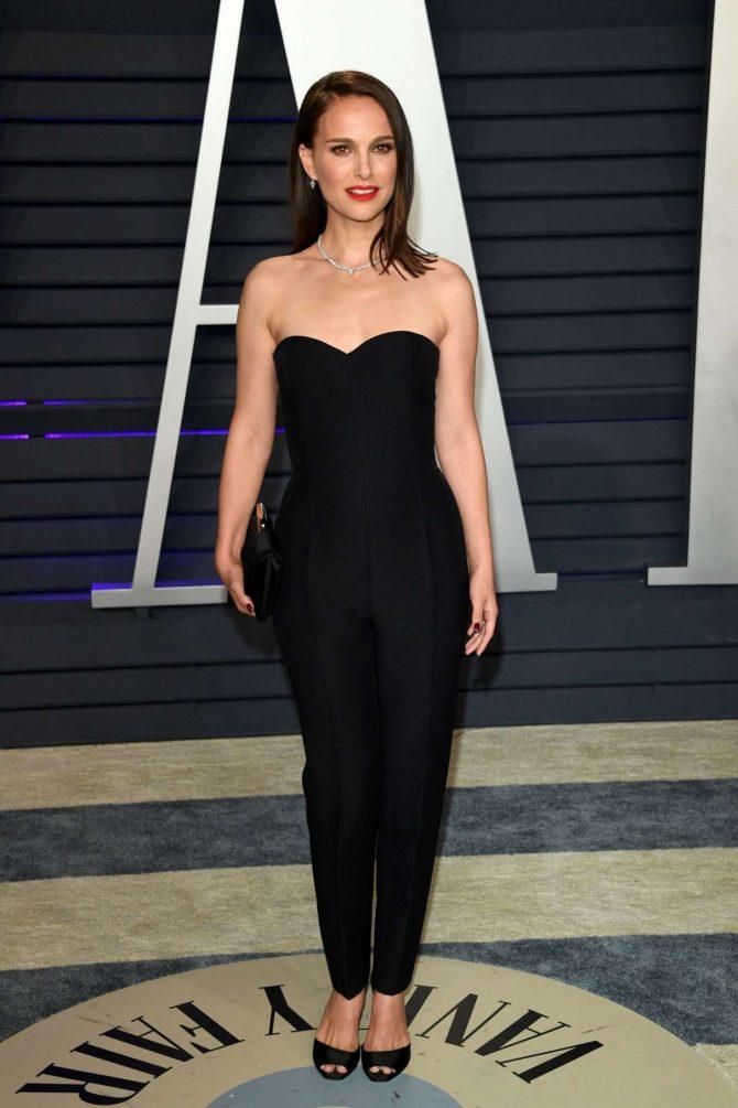 Natalie Portman 2019 : Natalie Portman: 2019 Vanity Fair Oscar Party -09