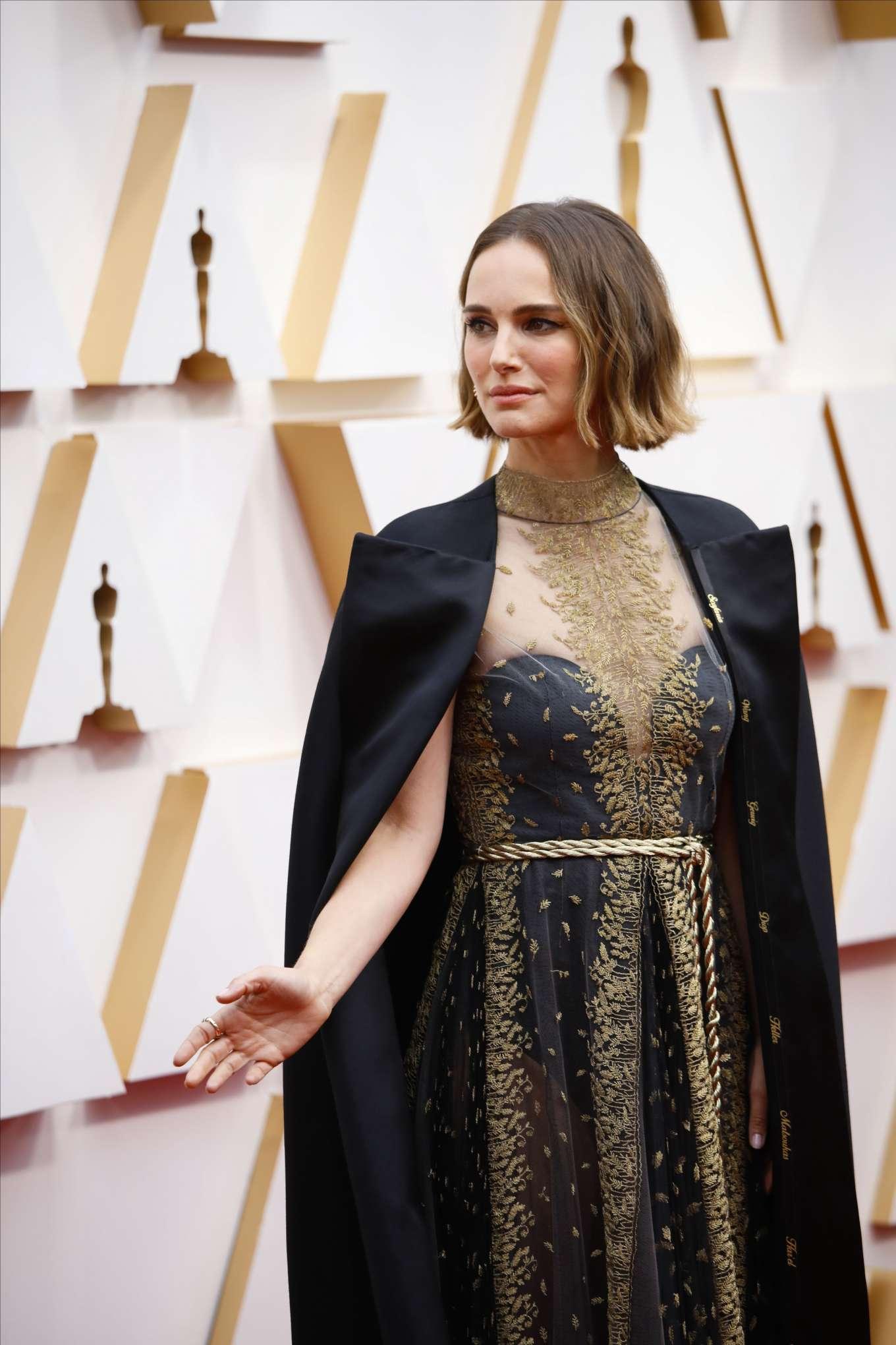 Натали Портман На Оскаре 2021