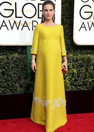 Natalie Portman - 74th Annual Golden Globe Awards in Beverly Hills