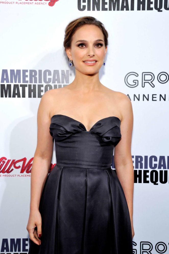 Natalie Portman – American Cinematheque's Award Gala in Los Angeles
