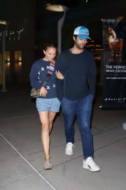 Natalie Portman and Benjamin Millepied at Arclight in Hollywood
