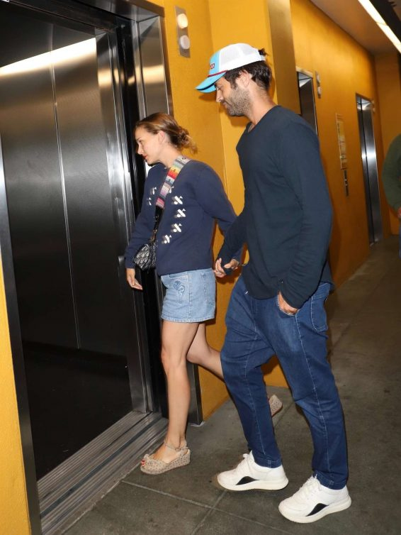 Natalie Portman 2019 : Natalie Portman and Benjamin Millepied at Arclight in Hollywood-11