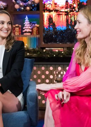 Natalie Portman and Leslie Mann - Watch What Happens Live in NYC