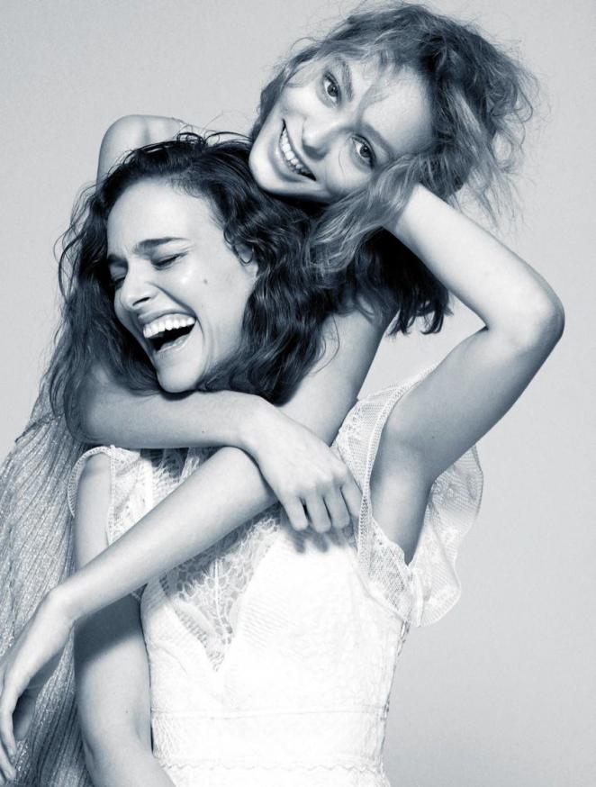 Natalie Portman and Lily-Rose Depp – Madame Figaro Magazine (August 2016)