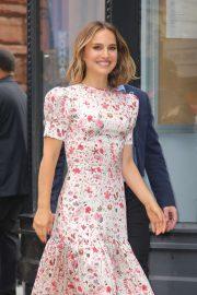 Natalie Portman - Arrives at Build Series in New York