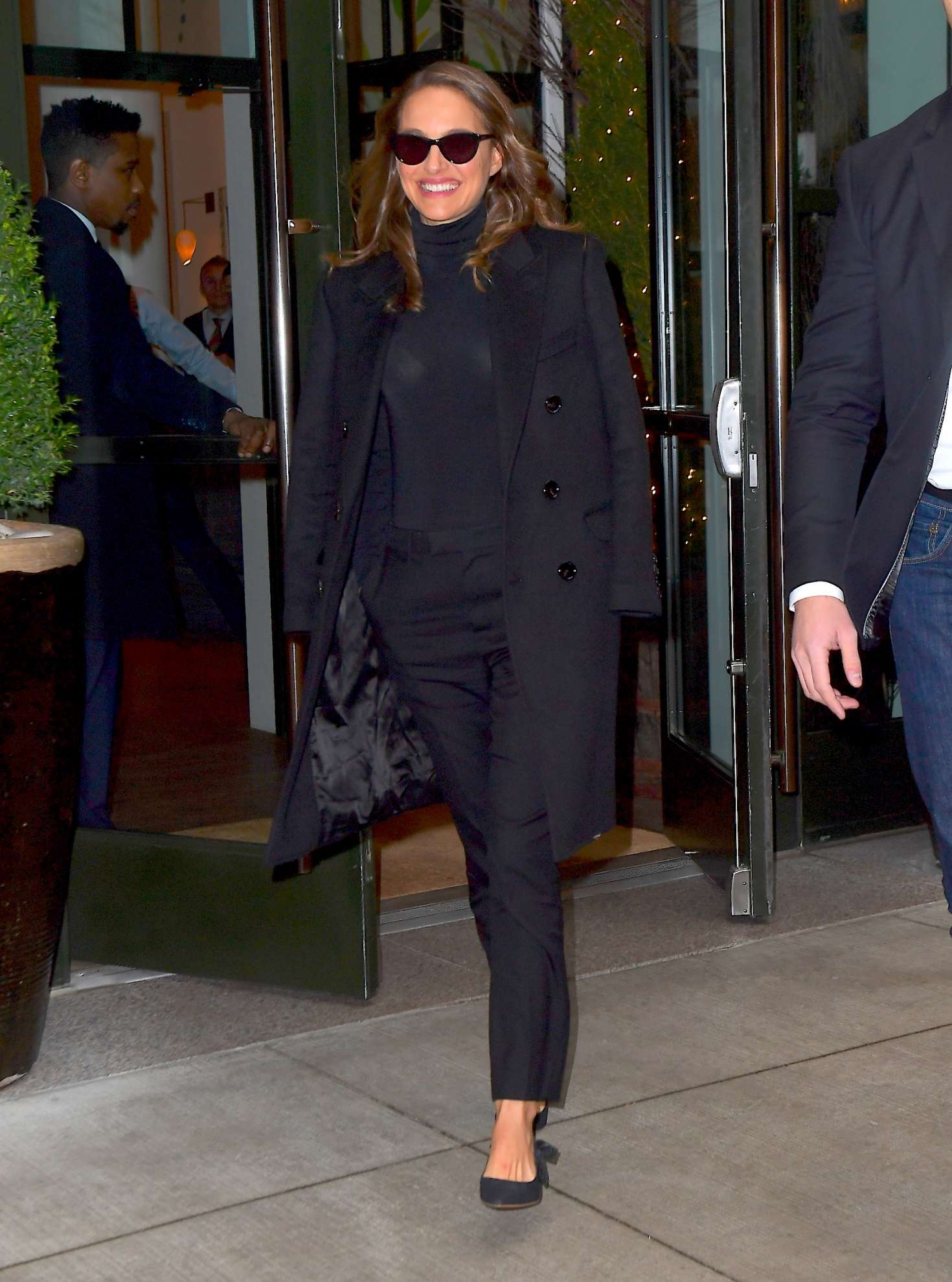 Natalie Portman - Arrives at The Tonight Show in New York