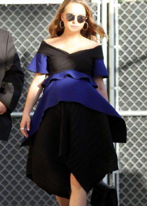 Natalie Portman - Arriving at Jimmy Kimmel Live! in LA