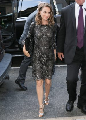 Natalie Portman - Arriving for Her Appearance at 92nd Street Y in NYC