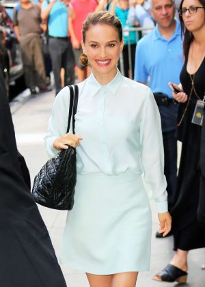 Natalie Portman at Good Morning America in New York