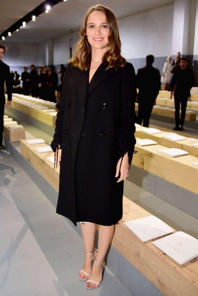 Natalie Portman - Christian Dior Show SS 2017 in Paris