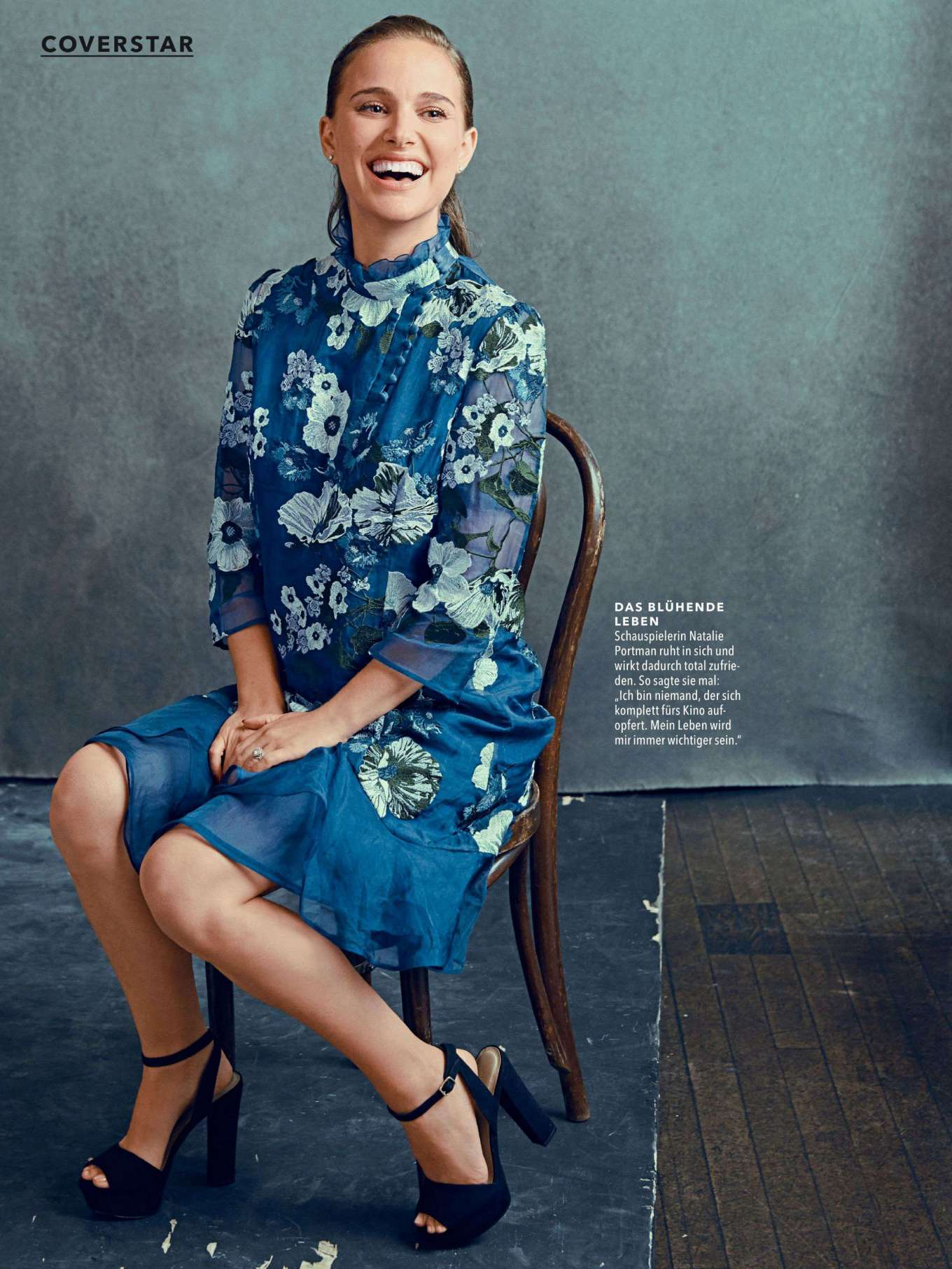 Natalie Portman - Cosmopolitan Germany Magazine (July 2019)